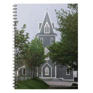 Capilla enselvada, Terranova, Canadá Libro De Apuntes