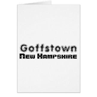 Capilla Goffstown de encargo, nuevo Hampsire del r Tarjeta De Felicitación