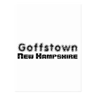 Capilla Goffstown de encargo, nuevo Hampsire del Tarjetas Postales