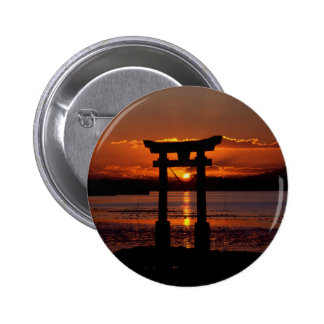 Capilla japonesa Nagao Pin Redondo 5 Cm