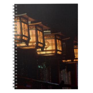 Capilla magnífica de Inari, Fushimi, Kyoto, Japón Libro De Apuntes