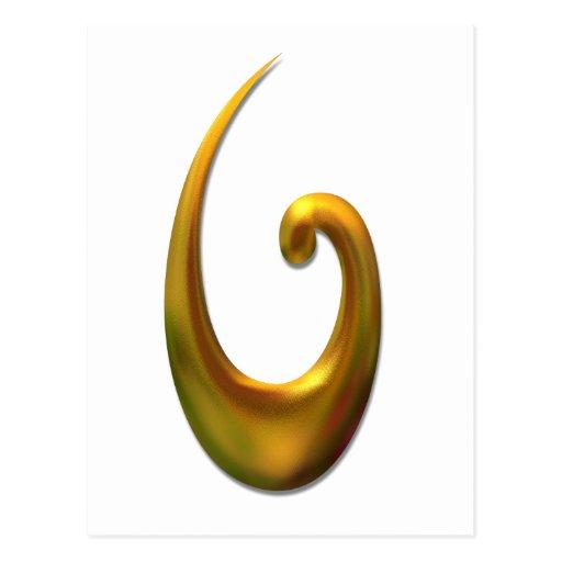 Capilla maorí de los pescados - oro