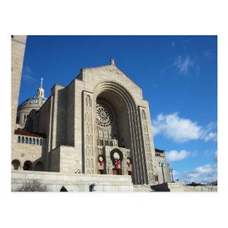 Capilla nacional en el navidad, 1 tarjetas postales