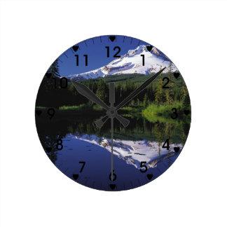 Capilla Oregon del soporte Reloj Redondo Mediano