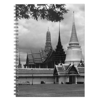 Capilla Royal Palace de Tailandia Bangkok del vint Libreta