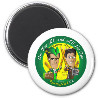 Capilla toda de Romney para una Imán Redondo 5 Cm