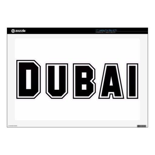 Capilla United Arab Emirates de encargo, Dubai del Calcomanía Para Portátil