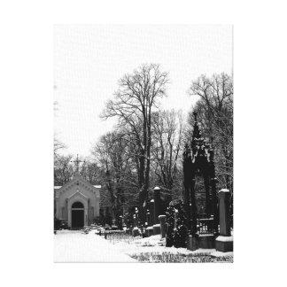 Capilla y arco (B&W) Lienzo Envuelto Para Galerias