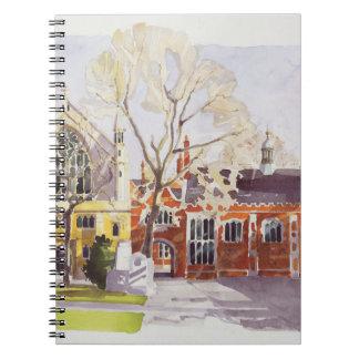 Capilla y mesón de Pasillo Lincoln Spiral Notebook