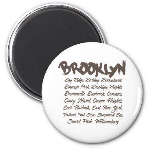 Capillas de Brooklyn Imán De Frigorífico
