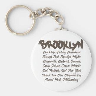 Capillas de Brooklyn Llaveros