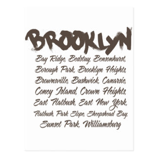 Capillas de Brooklyn Postales