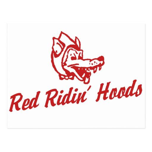 Capillas rojas de Ridin Postal