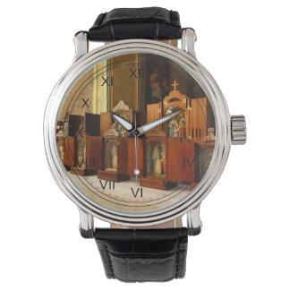 Capillas santas de la familia relojes