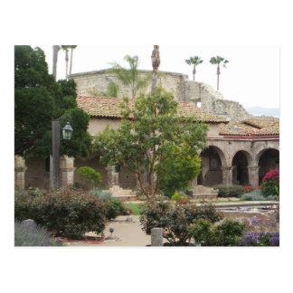 Capistrano Garden Arches postcard