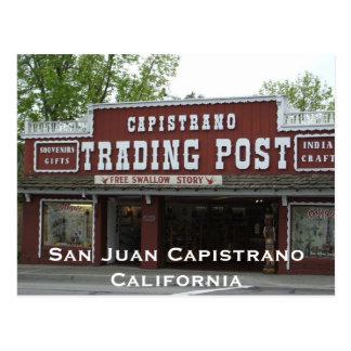 Capistrano Trading Post postcard