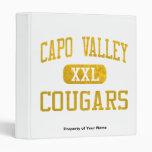 Capistrano Valley Cougars Athletics 3 Ring Binders