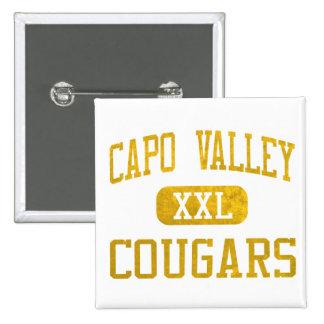 Capistrano Valley Cougars Athletics Pinback Button