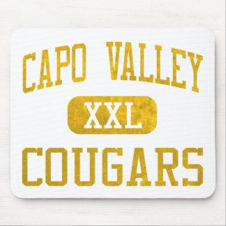 Capistrano Valley Cougars Athletics Mouse Pad