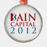 CAPITAL 2012 DE BAIN ORNAMENTOS DE NAVIDAD