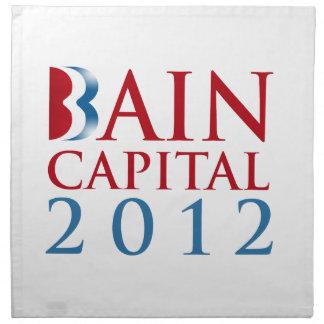 CAPITAL 2012 DE BAIN SERVILLETA IMPRIMIDA