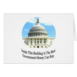 Capital Building with quote Card