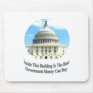 Capital Building with quote Mouse Pad