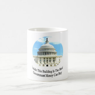 Capital Building with quote Mug