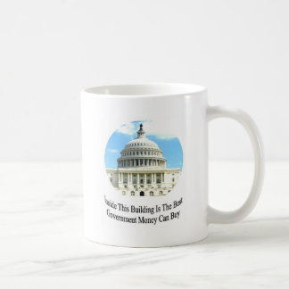 Capital Building with quote Coffee Mugs