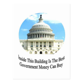 Capital Building with quote Postcard