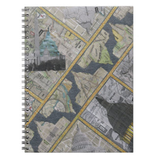 Capital City Spiral Notebooks