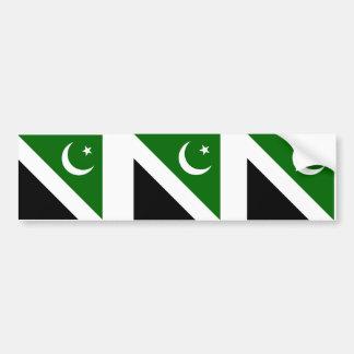 Capital de Islamabad, Paquistán Etiqueta De Parachoque