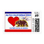 Capital de la cultura de ALTA CALIFORNIA 2009 de Sello
