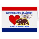 Capital de la cultura de América Altal 2009 Califo Tarjeton