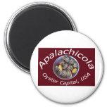 Capital de la ostra de Apalachicola Imanes De Nevera