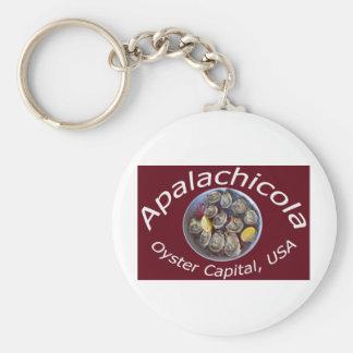 Capital de la ostra de Apalachicola Llaveros Personalizados