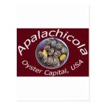 Capital de la ostra de Apalachicola Tarjetas Postales