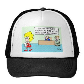 capital de riesgo implicado gorras