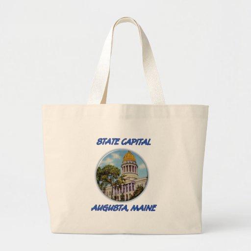 Capital del Estado Augusta Maine Bolsa