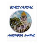 Capital del Estado Augusta Maine Postales