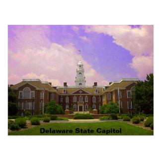 Capital del Estado de Delaware Tarjeta Postal