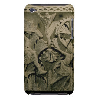 Capital depicting a man shooting an arrow into the iPod touch case