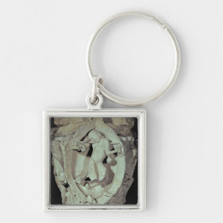 Capital depicting the Fourth Key of Plainsong Keychain