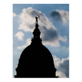 Capital Dome Topeka Kansas Postcard