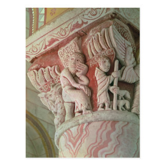 Capital from the chancel from 'Babilonia Postcard