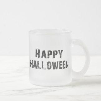 Capital Grunge Happy Halloween Frosted Glass Coffee Mug