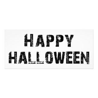 Capital Grunge Happy Halloween Full Color Rack Card