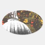 Capital Grunge Sticker