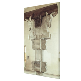 Capital in the Persian style Stretched Canvas Prints
