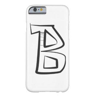 "capital letter ""B"" graffiti style iphone case"